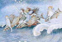 Australian and Vintage Illustrators / Women illustrators through the ages. Ida Rentoul Outhwaite (1988-1960) was an early Australian illustrator of children's books.  Outhwaite's first illustration was published by The New Idea in 1904 when she was just 15 years of age.