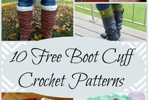 boot cuff patterns