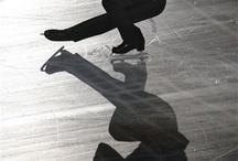 Figure skating on ice