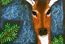 Výtvarná výchova - Zvířata