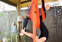 Yoga Swing / exercises for the yoga swing