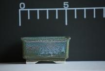 ///Ceramic bonsai pot