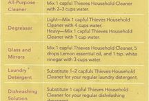 Thieves Household Cleaner Recipes