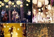 Wedding lights decor