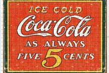 Láminas coca cola vintage decoupage