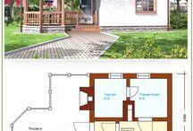 Проекты бань и домов