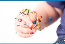 Smash Cake/1st Birthday Pic Ideas / by Pamela Diane Anderson