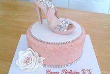 Shoe cake topper