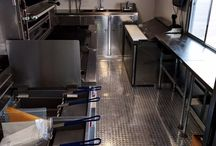 Food trailer interiors