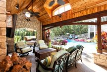 Outdoor Living Room/Pavilion