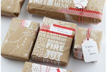 packaging / packaging, letter, gift, present