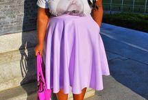 Orobo Girl Beautiful in Lavender Tones