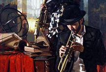 Art - Music  In Art # (Part II)