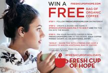#FRESHCUPOFHOLIDAYS PIN IT TO WIN IT / by Rebecca H.