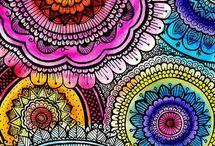 Mándalas  / Inspiración color