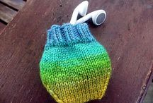 Scrap knitting