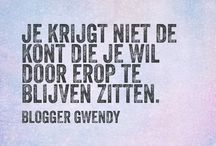 Blogger Gwendy Quotes
