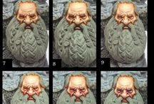 warhammer painting dwarf face