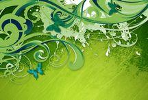 My Favorite Green &Purple Things / by Janie Jones