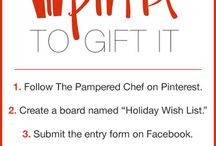 Holiday Wish List / The Pampered Chef