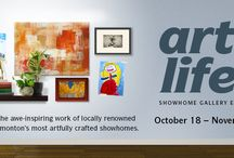 Art or Life 2014 / See the artists being showcased at the 5th Annual Art Show in Ambleside. See all these pieces on display in the Ambleside showhomes from October 18 - November 9.