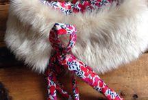 .Écharpes / Dans ce tableau vous trouverez des inspirations pour vos créations .   DIY - Mode - Fashion - Inspiration - Création - Hiver - Accessoires - Echarpes