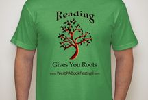 T-shirts and clothing that promote reading