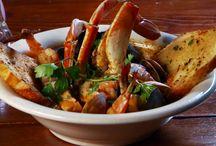 seafood and fish