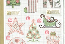 Christmas cross stitch / by Gretchen Peterson