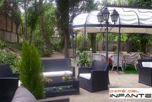 Chill Out Jardines Café del Infante. 2013 / Zona Chill Out Jardines Café del Infante.2013