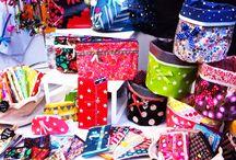 Trousses Pauline.R / Des trousses de toutes les tailles pour embellir votre sac ou pour ranger toutes vos petites affaires partout où vous voulez !