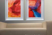 Art Print Set / www.etsy.com/shop/EmiliaSwitalaArtist contact@emiliaswitala.com, www.emiliawitala.com https://emiliaswitala.wordpress.com #art #artist #Painter #Contemporaryart #Contemporarypaintings #Contemporaryartist #Abstractart #Abstractpaintings #Largeartprints #Artprints #Artforinterior #Artforinteriors #artwork #Bilder #pinturas #painting #paintings #minimalart #minimalism #abstractexpressionism #colorfield #colorfulart #modernart #watercolor #acrylic #artprint #artprints #set #artprintset #largeprint