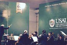 Coro y Orquesta (VRID) / Conciertos sinfónico-corales dentro de programas sinfónicos, clásicos y contemporáneos. Organismos a cargo del Vicerrectorado de Investigación y Desarrollo de la USAL.