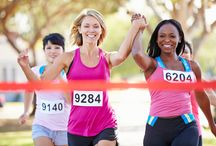 Mini Marathon Training / Training for a half or full marathon requires a lot of time and dedication. We will help you out by providing all of our tips, common running injuries, how to train and 'day of' strategies.