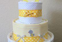Diaper cakes/ plienkové torty