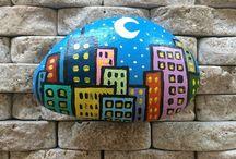 Stone art tas boyama / Tas boyama sanati takipp
