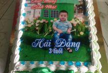 Bánh sinh nhật in ảnh
