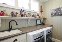 Lovely Laundry Rooms / Practical and attractive laundry room ideas / by Denice Hicks