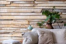 Wall texture for feature wall concept