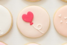 Baked with love / Editable treats for romantics.