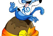 Blue Monkeys / Our festive monkeys love to celebrate