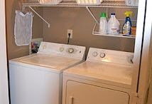 The Wash House / Laundry storage solutions  Organization Decorating