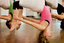 Hammock flying yoga