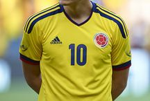 James Rodríguez / The young star for Columbia's national soccer team!
