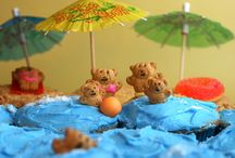Birthday Party Ideas / I really like pool parties, but I need some new ideas... Hence why I have a Pinterest board for it! ^_^ / by Heather Groves
