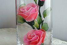 nylonove květiny