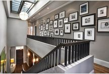 B&W Gallery Wall / by Rebecca Loewke Interiors