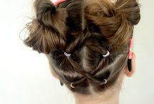 little girls hair clothes ideas / by Sarah Farrell