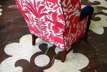 red chair ideas