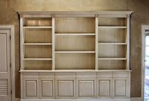 For yellowed cabinets